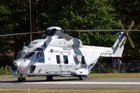 144054 @ ESDF - Hkp14D (NH-90) helicopter of the Swedish Defense Helicopter Wing at Ronneby Air Base - by Henk van Capelle