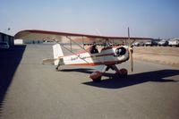 N23DM @ MOD - 3DM at the Modesto airport in Calif. in 2002.Wanted to buy this neat little plane. - by S B J