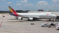 HL7419 @ MIA - Asiana Cargo 747-400F