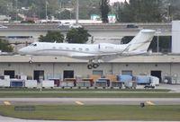 N717DX @ FLL - Gulfstream 450