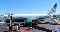 N737WH @ ORL - Ex Miami Dolphins 737-700