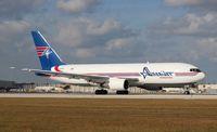 N739AX @ MIA - Amerijet 767-200