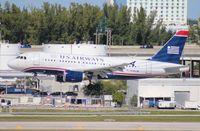 N746UW @ FLL - US Airways A319