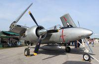 N747MX @ LAL - F7F-3 Tiger Cat
