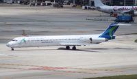 N803WA @ MIA - World Atlantic MD-82
