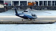 C-FZAA @ CBC7 - Helijet preparing for departure from Vancouver Harbour Heliport. - by M.L. Jacobs