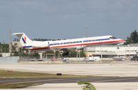 N830AE @ MIA - American Eagle E140