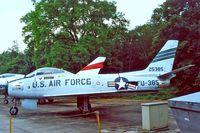 5307 - N.American F-86F Sabre [191-876] (US Air Force) Kamp Van Zeist Soesterberg~PH 11/08/2000 - by Ray Barber