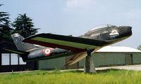 MM19668 @ LIMN - Canadair CL-13 Sabre Mk.4 [568] (Italian Air Force) Cameri-Novari~I 08/09/1999 - by Ray Barber