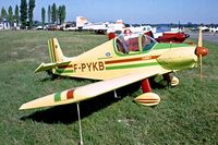 F-PYKB @ LFFN - Brugger MB.2 Colibri [145] Brienne-Le-Chateau~F 30/07/1983. From a slide.