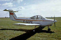 F-GCPE @ LFPR - Piper PA-38-112 Tomahawk [38-79A0737] Guyancourt~F 13/09/1980. From a slide.