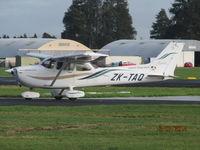 ZK-TAQ @ NZAR - busy flying club bee - by magnaman