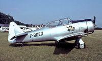F-BOEO @ LFFQ - North American T-6G Texan [182-635] La Ferte Alaise~F 16/07/1982