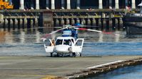 C-GHJJ @ CBC7 - Helijet recently arrived at Vancouver Harbour Heliport. - by M.L. Jacobs