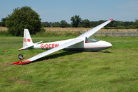 G-DCEW @ X3SI - G-DCEW 'CEW' at Seighford 22.7.12 - by GTF4J2M
