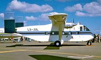 LX-JUL @ EGVA - Shorts SC-7-3M-400 Skyvan [SH1943] (Hunting Aviation) RAF Fairford~G 22/07/1995
