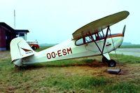 OO-ESM @ EBGB - Aeronca 11AC Chief [11AC-1605] (Gedair) Brussels-Grimbergen~OO 13/08/1977