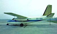 OO-SID @ EBAW - Aero Commander 680 [357-46] Antwerp-Deurne~OO 14/08/1977. From a slide.