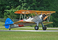 N68972 @ 12N - This beautiful Stearman is part of the Andover Flight Academy fleet, which offers tailwheel training in this bird, as well as a vintage Piper Cub. - by Daniel L. Berek