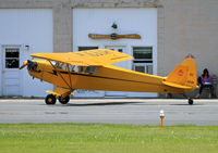 N6114H @ 12N - Andover Flight Academy offers both general flight instruction and tailwheel training in this lovely 1946 Piper Cub. - by Daniel L. Berek