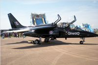 ZJ647 @ EGVA - RIAT 2014, Alpha Jet A, QinetiQ, based at Boscombe Down, seen on static display. - by Derek Flewin