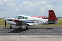 N943RW @ LAL - Bees on the side of the Mooney