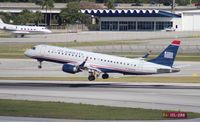 N948UW @ FLL - US Airways E190