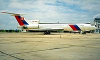 OM-BYO @ LZIB - Tupolev Tu-154M [89A-803] (Government of Slovakia) Bratislava-M R Stefanik~OM 21/06/1996