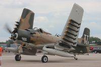 N959AD @ YIP - AD-4 Skyraider