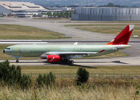 F-WWKL @ LFBO - C/n 1550 - For Avianca Cargo - by Shunn311