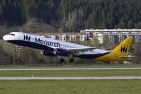 G-OJEG @ LOWI - Monarch Airlines - by Maximilian Gruber