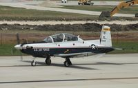 06-3849 @ KSAT - Raytheon T-6A - by Mark Pasqualino