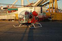 N3079G - Bat Copter Bell 47G at Florida State Fair Tampa