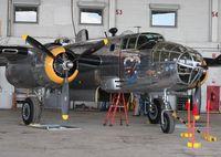 N3774 @ YIP - Yankee Warrior B-25