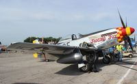 N5420V @ LAL - P-51D Swamp Fox