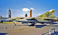 20 13 @ EDBG - Mikoyan-Gurevich MiG-23ML Flogger [0390324624] (German Air Force) Berlin-Gatow~D 20/05/1998