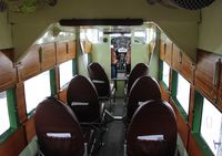 N8407 @ ORL - Interior of  Ford Trimotor