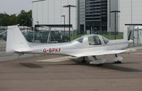 G-BPKF @ EGSH - Parked at Norwich. - by Graham Reeve