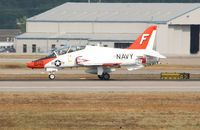 163644 @ KBNA - McDonnell Douglas T-45A - by Mark Pasqualino