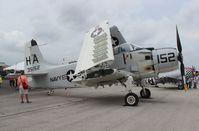 N65164 @ LAL - EA-1E Skyraider