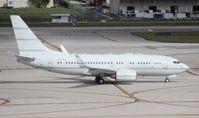 P4-BBJ @ FLL - 737-700 BBJ from Aruba