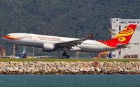 B-LNF @ VHHH - Hong Kong Airlines - by Wong Chi Lam