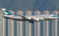 B-HKJ @ VHHH - Cathay Pacific Cargo - by Wong Chi Lam