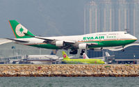 B-16409 @ VHHH - EVA Air - by Wong Chi Lam