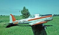 OY-DHJ @ EKRS - De Havilland Canada DHC-1 Chipmunk 21 [C1/0470] Ringsted~OY 07/06/1982. From a slide.