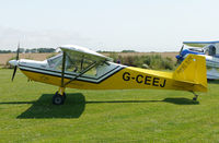 G-CEEJ @ X3CX - Parked at Northrepps. - by Graham Reeve