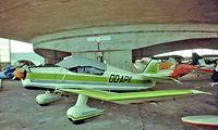 OO-APK @ EBGB - OO-APK   SAN Jodel D.150 Mascaret [24] Brussels-Grimbergen~OO 13/08/1977. From a slide.