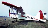 OY-AAC @ EKVJ - S.A.I. KZ III U-2 [108] Stauning~OY 05/06/1982. From a slide.
