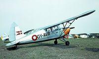 OY-AVR @ EKVJ - S.A.I. KZ VII U-4 Laerke [176] Stauning~OY 05/06/1982. From a slide.