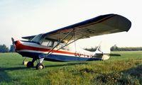OO-TWH @ EBZH - Aeronca 7AC Champion [7AC-2633] Kiewit-Hasselt~OO 14/09/1985. From a slide.